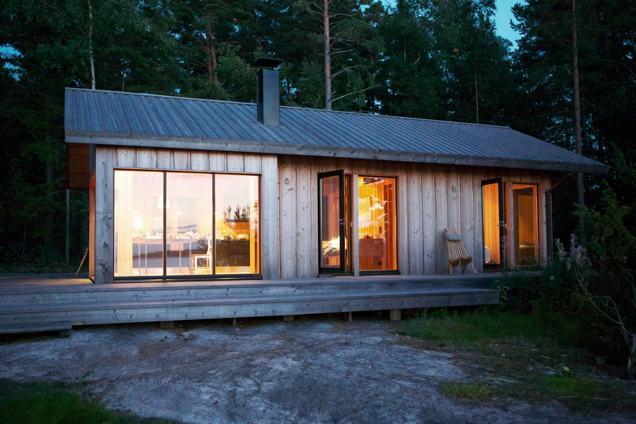 Joarc Architects Villa Maija Cabins And Cottages Scandinavian Cabin House Exterior