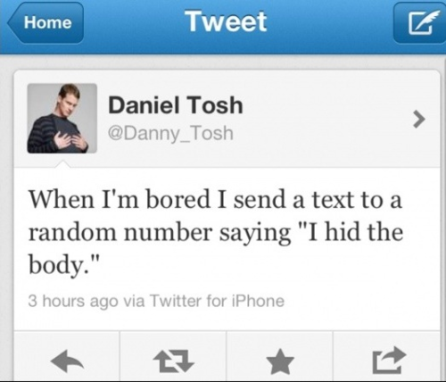 oh tosh