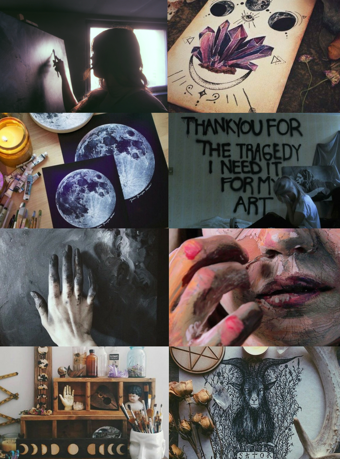"Witch Aesthetics // Artist Witch ""Requested "" Secret Witch 