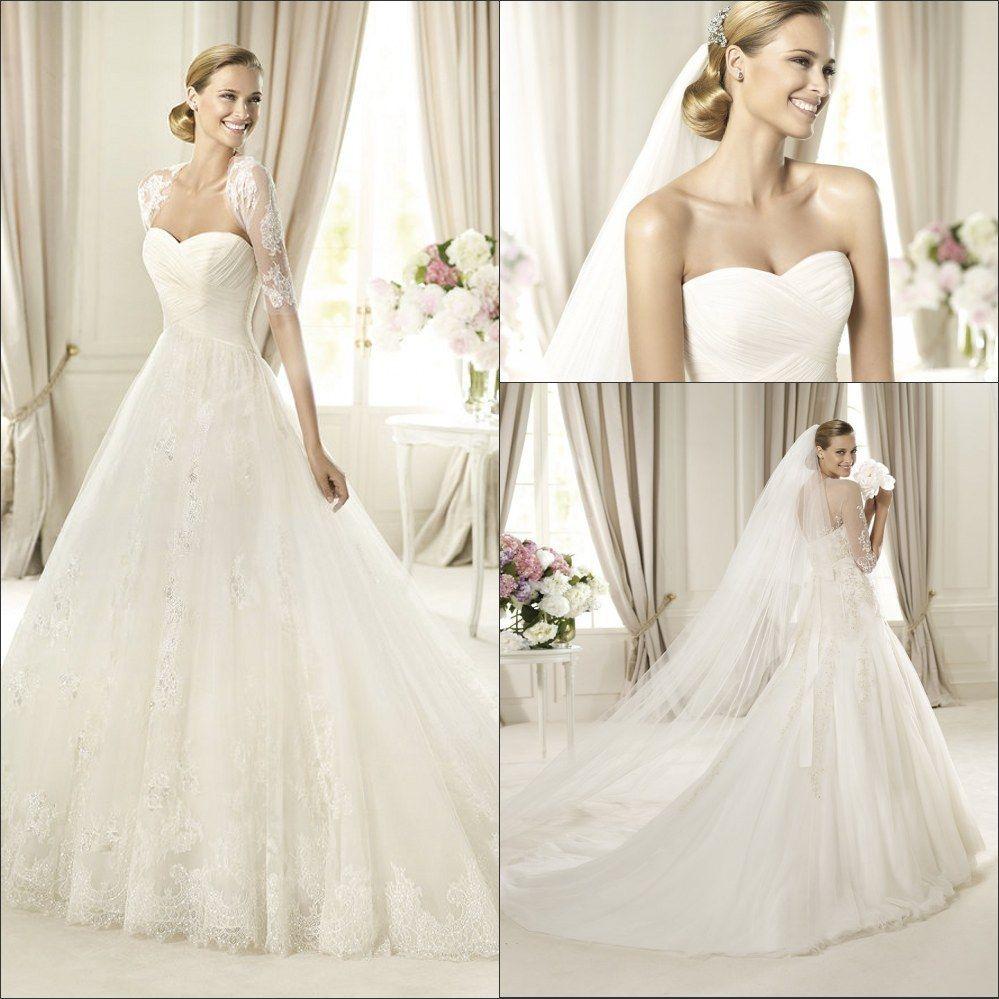 Images of wedding gowns u veils shortsleevebridalwedding