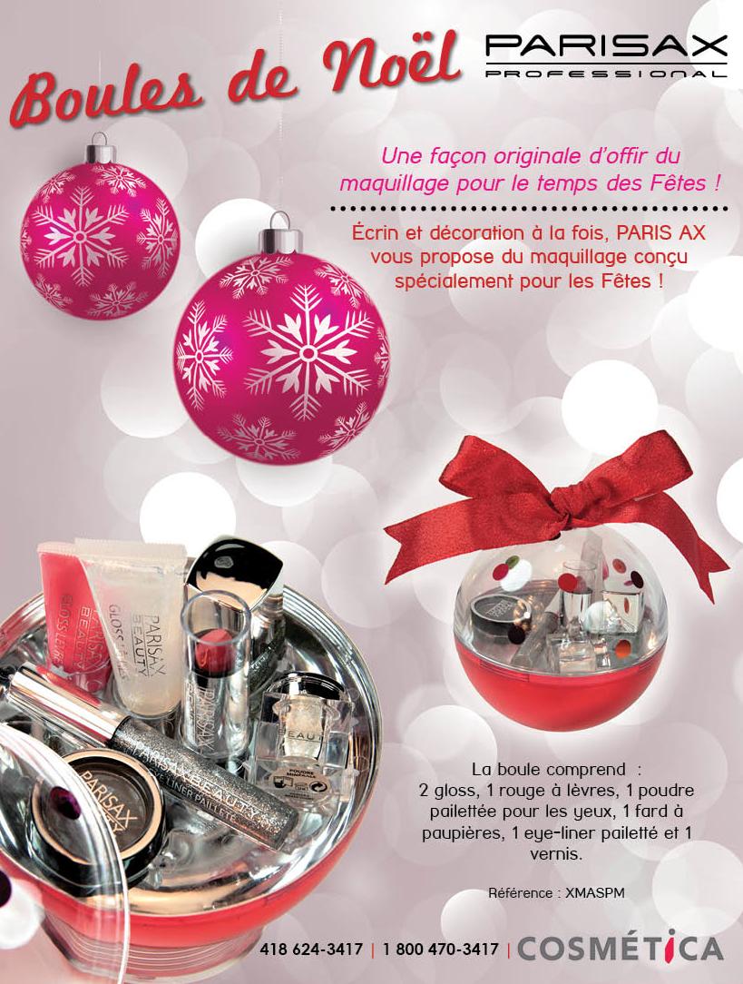 Un must pour mettre sous l'arbre de Noël ! Suivez Parisax