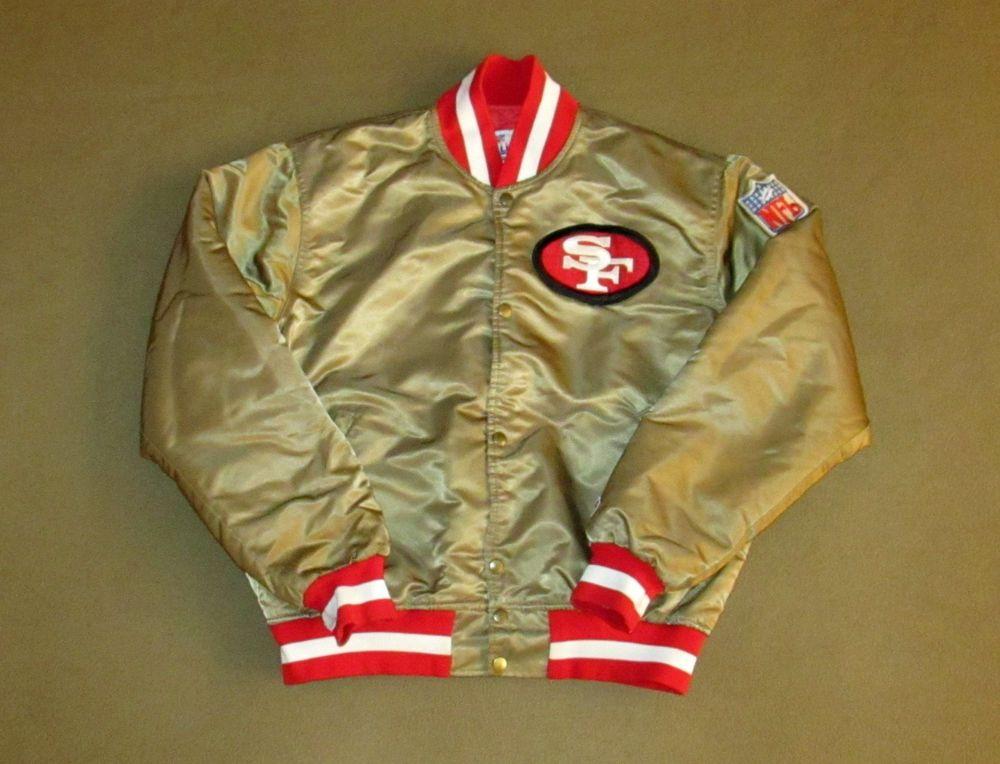 8ba6d4fd Vintage San Francisco 49ers Starter Jacket On Ebay!!! | San ...