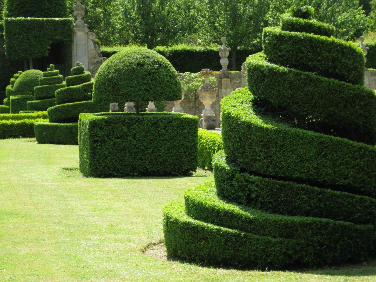 Le croissant d'argent | Topiary, Topiary garden, Garden