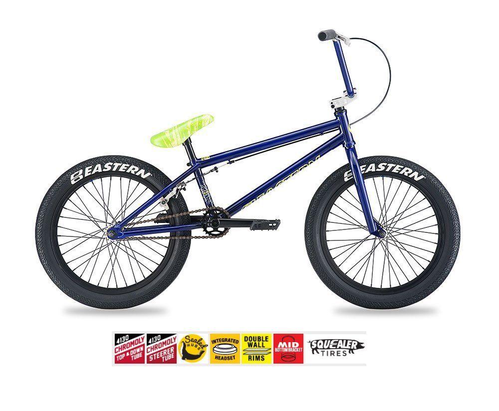 Eastern Traildigger Bmx Bike 2017 Bicycle Purple Frame 20 75 Top Tube Chromoly Top Tube Chromoly Downtube Integrated Sealed Headset An Bmx Bikes Bmx Bike