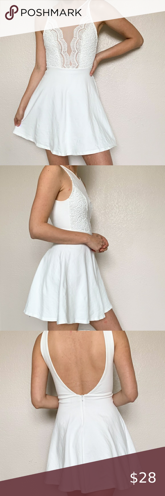 Lulu S White Lace Mesh Skater Mini Dress Xs White Lace Skater Dress By Lulu S Sheer Mesh Accents T White Lace Skater Dress Mesh Skater Dress Mini Skater Dress [ 1740 x 580 Pixel ]