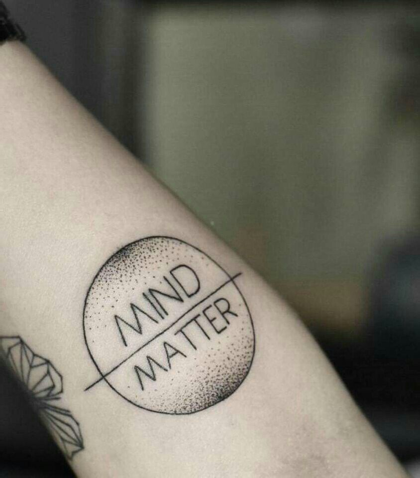 My Mind Is Over Everything Mind Over Matter Tattoo Loss Tattoo Tattoos Mind Over Matter Tattoo