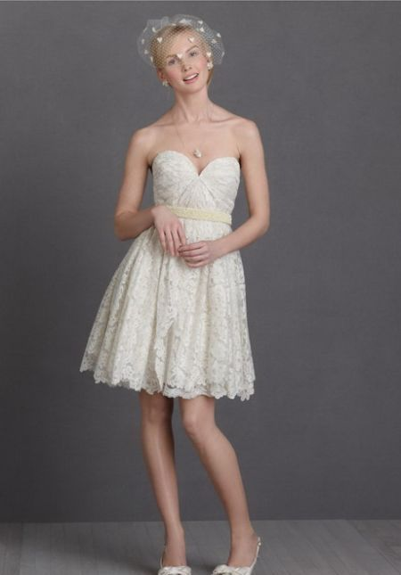 Cool White Reception Dresses 2018 2019 Check More At Http://myclothestrend. Short  Wedding ...