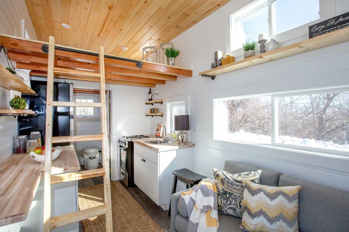 24ft tiny home by global tiny houses tiny house listings