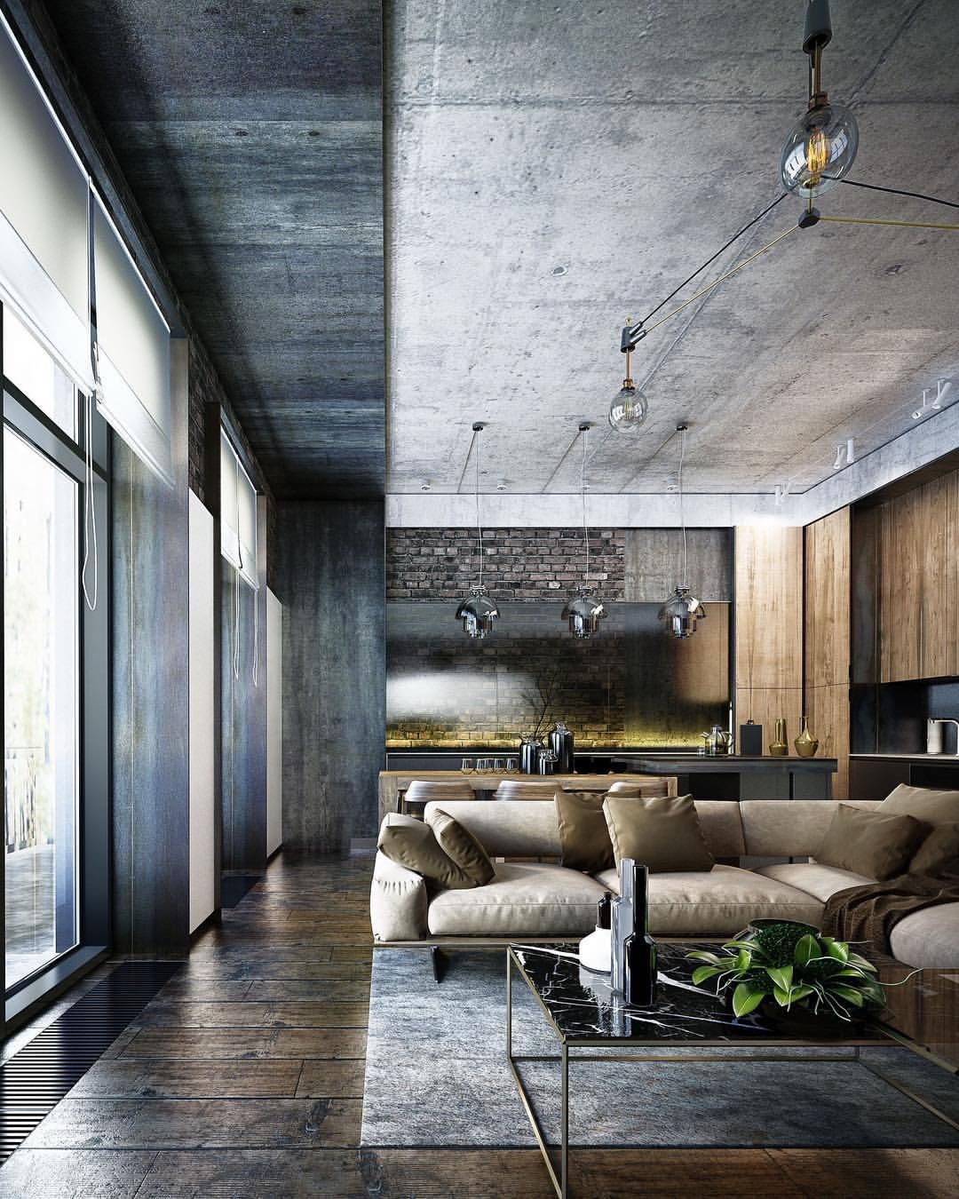 "Living Room Design App Delectable Architecture & Design ""App Loftoleksii Komarov#kiev Design Ideas"