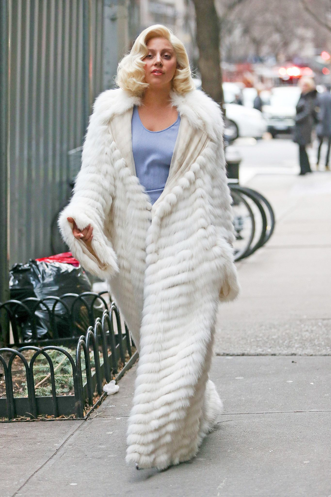 Lady Gaga | Celebrities in Fur | Pinterest | Coats Fur and Lady