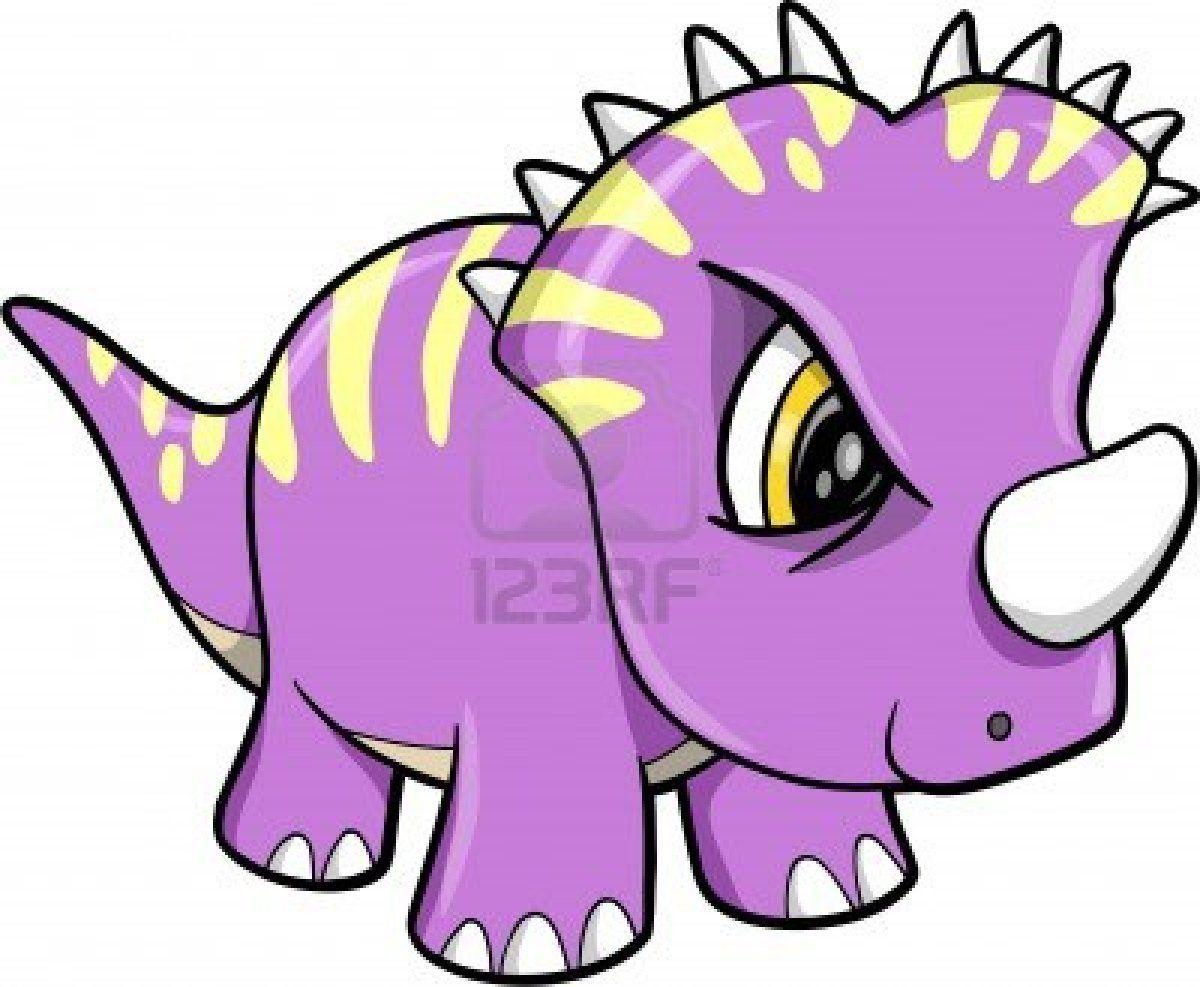 Tough Cute Dinosaur Animal Vector Illustration Art Cute Dinosaur Dinosaur Drawing Vector Art Illustration