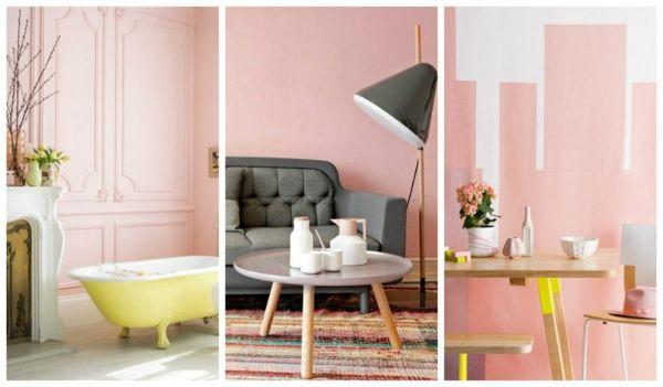 moderne wandfarben pastellrosa interior Kinderzimmer - wandfarben kinderzimmer