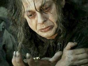 Andy Serkis Gollum Transformation