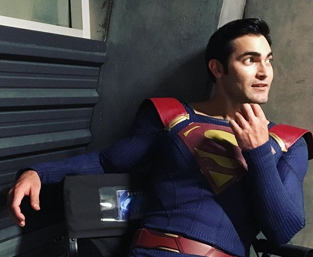 #thisguy in the #DEO @tylerl_hoechlin ... You frickin nailed it, Cuz. Best #Superman yet! The accolades are legit and the compliments well-deserved. You are one of the coolest, most humble and hilarious dudes I've ever met and I'm super proud of ya! You may have played the #manofsteel on the television boxes, but all of us here at @thecwsupergirl know you're just a big #softie at ❤️ Hope to see ya soon :)