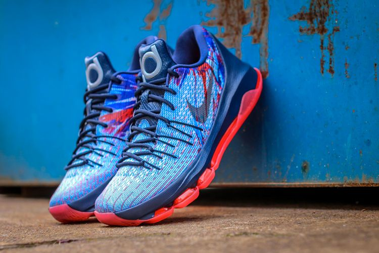 """91eed3c5eecc A Closer Look at the Nike KD 8 """"USA"""""""