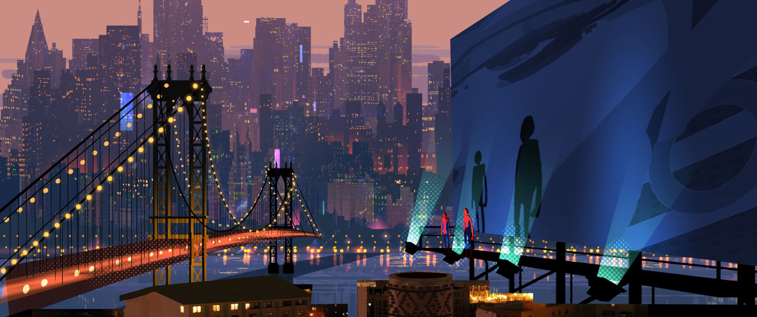the art of spiderman into the spiderverse  spider