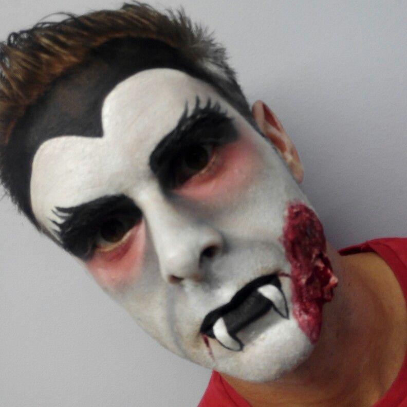Maquillaje vampiro halloween Halloween, Caracterización, Fantasía - maquillaje de vampiro hombre