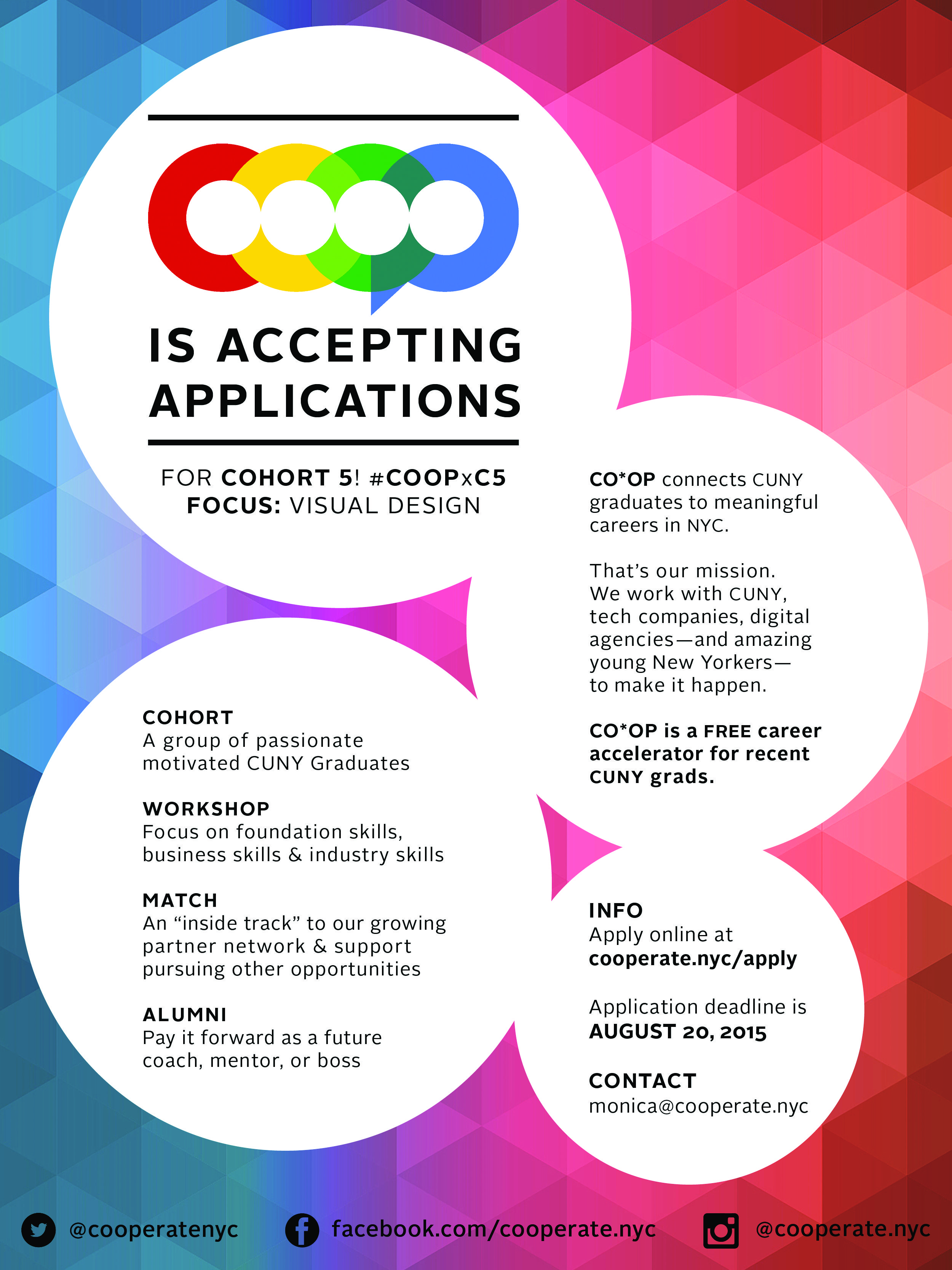 Apply to coop for visual design opportunities job