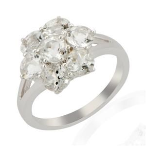 <strong>27</strong> - Petalite Sterling Silver Ring ATGW 2.75cts