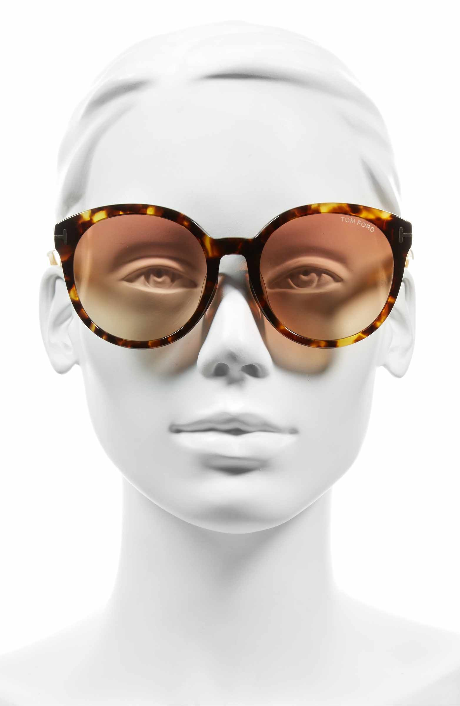 Main Image - Tom Ford Philippa Special Fit 55mm Sunglasses ... dbb6f50a7a