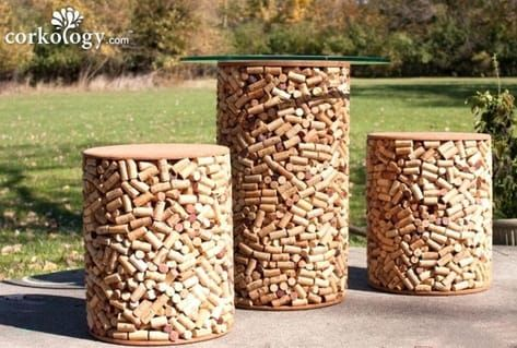 24 cork crafts table ideas