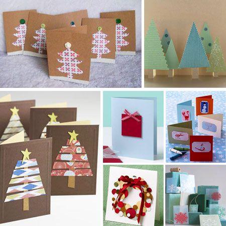 7 postales de Navidad fáciles de hacer Navidad, Postales de