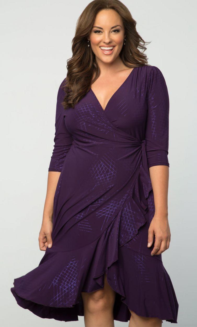 cutethickgirls.com plus size purple dresses (25) #plussizedresses ...