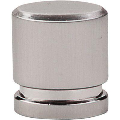Top Knobs Sanctuary Oval Knob Finish: Brushed Satin Nickel