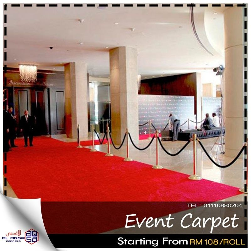 ALAQSA EVENT CARPET ROLL FOR SALE from Selangor Klang