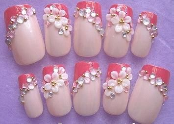 Pin By Vy Huynh On Projects To Try 3d Nail Art Designs 3d Flower Nails 3d Nail Art