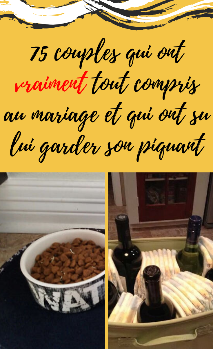75 Couples Qui Ont Vraiment Tout Compris Au Mariage In 2020 Amazing Photography Amazing Food Hub