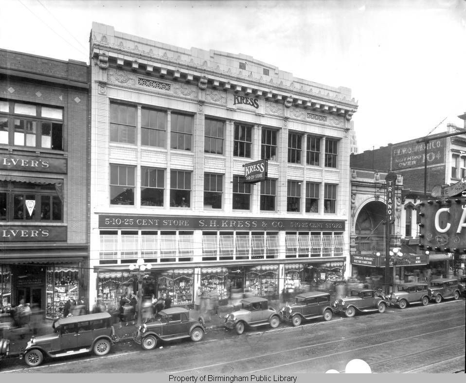 S.H. Kress & Co., 51025 cent store exterior in 1900