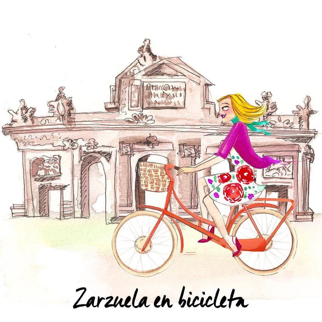 PLAN PARA HOY moderno-castizo donde los haya: recorrido en bici por diferentes lugares relacionados con conocidas zarzuelas madrileñas. Toda la info en la web. #SummerConfidential