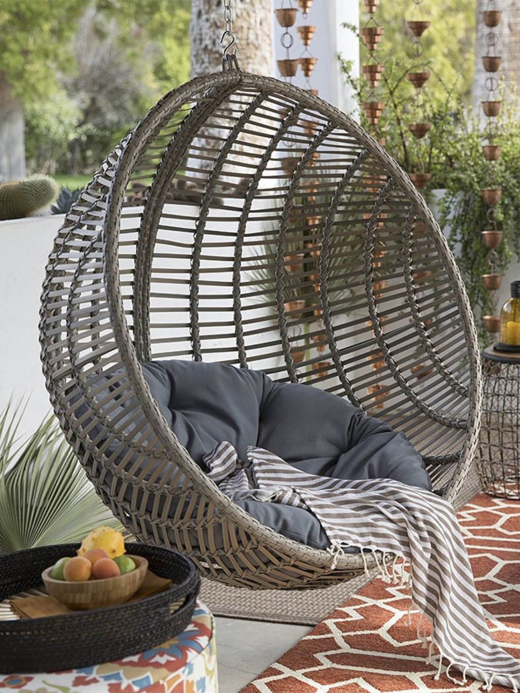 Outdoor Hanging Chair Cushion