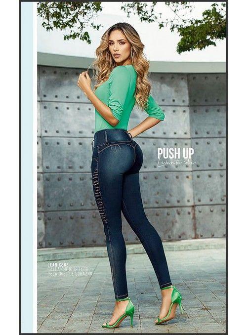 Jeans Colombianos Levanta Cola Originales, Fajas ...