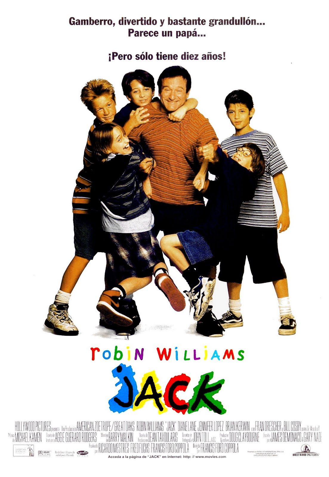 Jack (1996) | Robin williams, Robin williams movies, Robin williams jack
