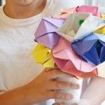 Construction Paper Flowers #constructionpaperflowers Construction paper flowers #constructionpaperflowers