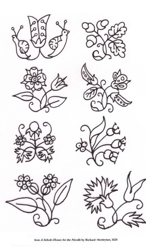 Blackwork for beginners hand embroidery patterns