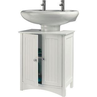 Under Sink Storage Unit White From Homebase Co Uk Bathroom Storage Bench Under Sink Storage Diy Bathroom Storage