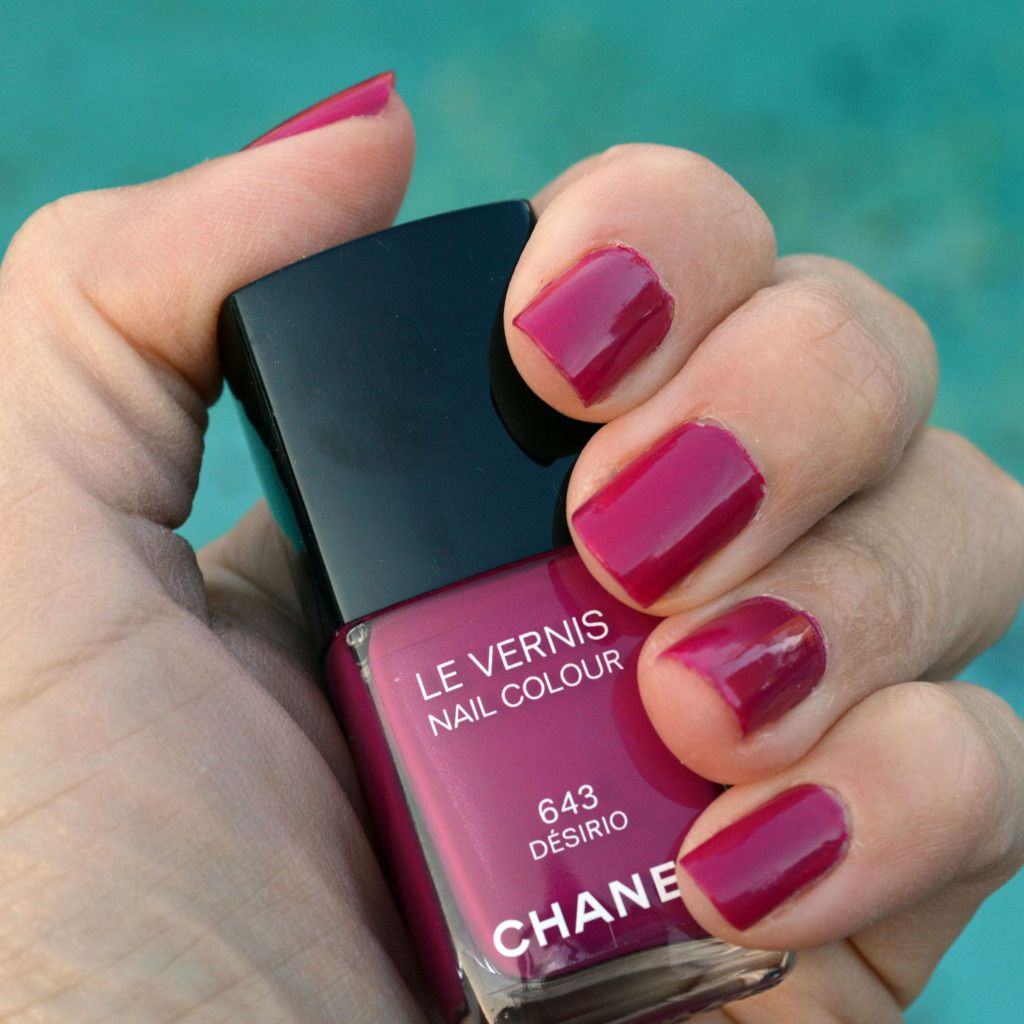 Chanel Desirio nail polish spring 2015 review | Summer nail colors ...