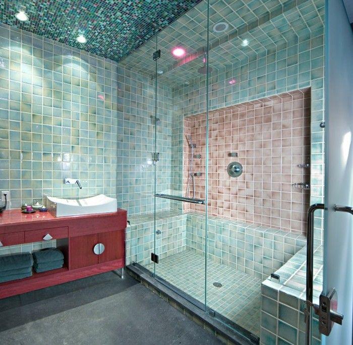Designs Uniques Pour Une Salle De Bain Turquoise  Salle De