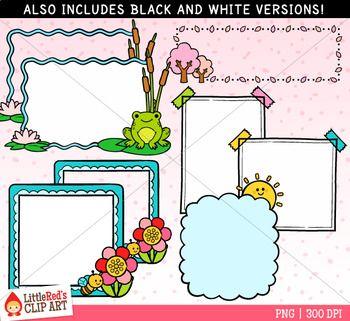 Fun Frames Clip Art