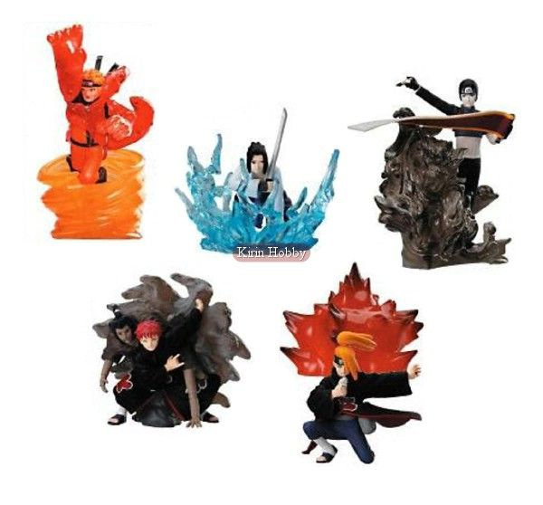 Toynami Naruto Shippuden Ninjutsu Collection 4 Inch Series 1 Figure Sasuke