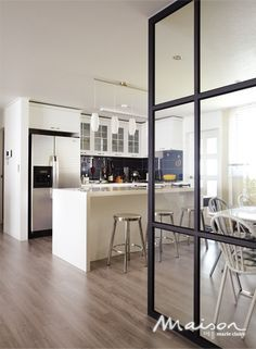 Glass Wall Partition Kitchen Google Search Deli And