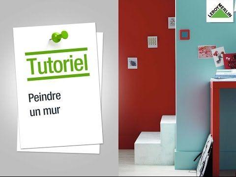 Comment peindre un mur ? Leroy Merlin - YouTube Appt Pinterest - peinture murale interieur maison