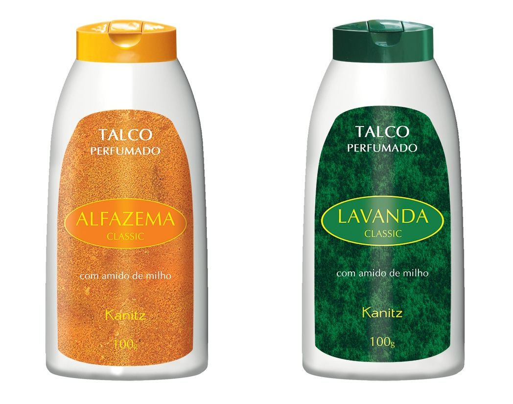 Talco Perfumado Classic