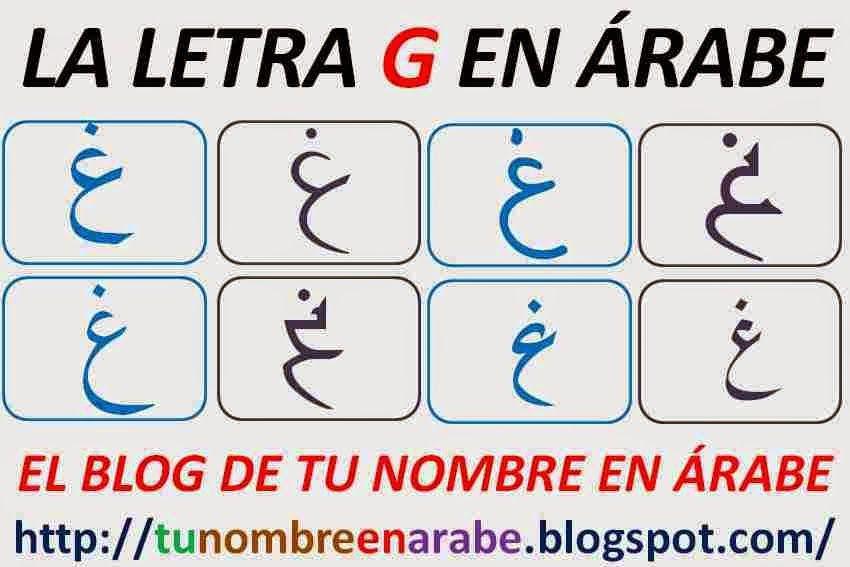Nombres En Arabe G Tu Nombre En árabe Nombres En Arabe Letras Para Tatuajes Letras Arabes
