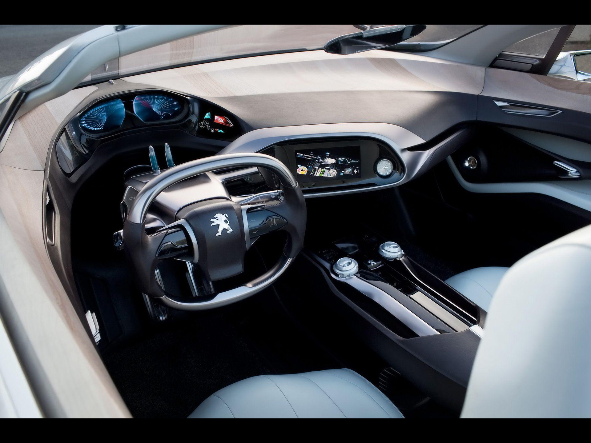 Car interior photos - 2010 Peugeot Sr1 Concept Car Interior 1920x1440 Jpg