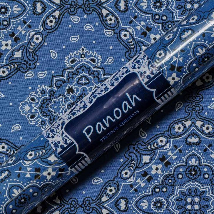 Adesivo de Parede Bandana Azul  Panoah