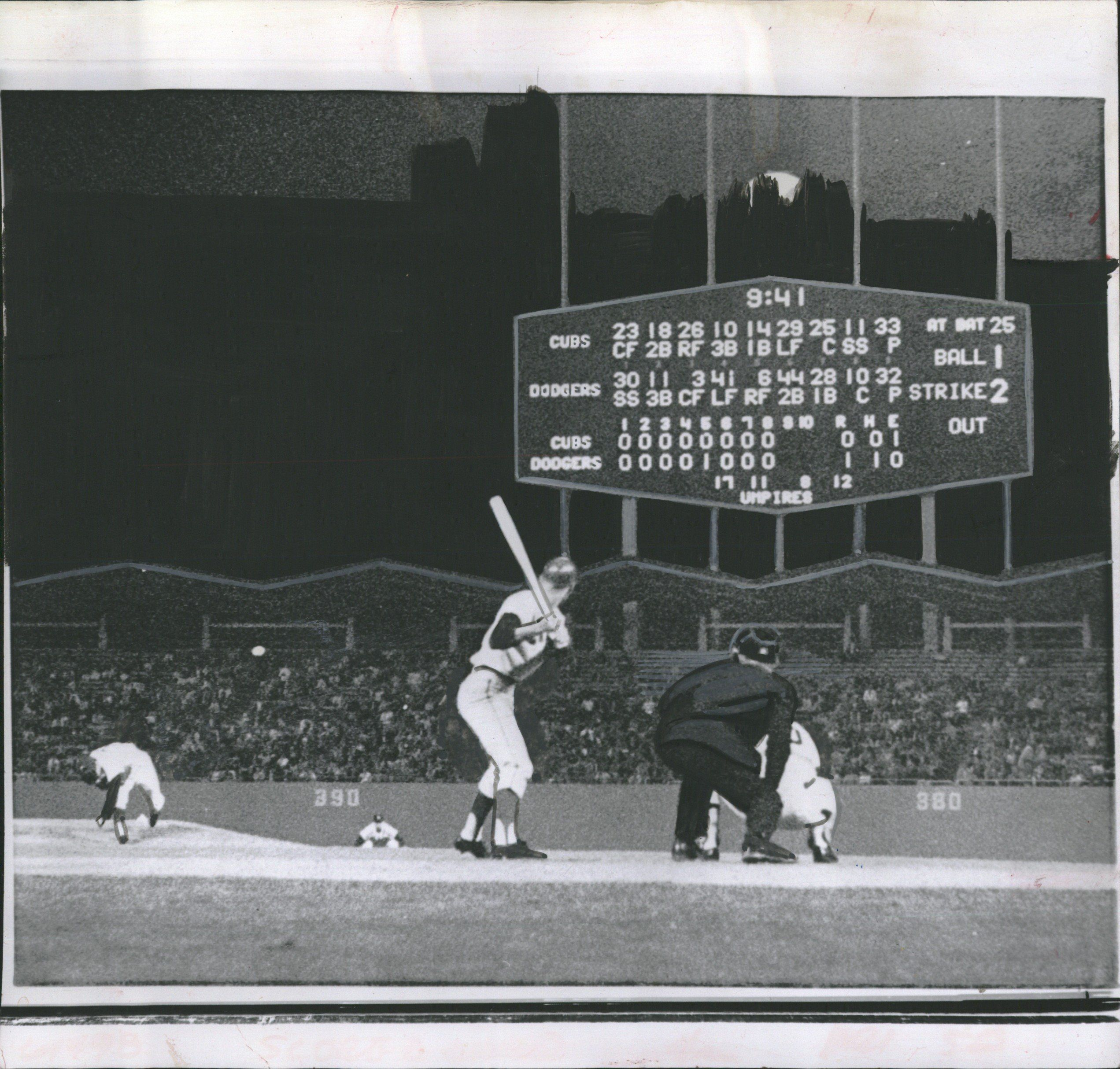 Sandy Koufax Perfect Game vs Cubs September 9, 1965
